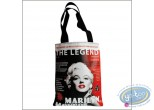 Bagagerie, Marilyn Monroe : Shopping bag in canvas, Marilyn Monroe
