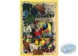 Carte postale, Hommage à Franquin, Les Grands Ancêtres  par A. Floc'h