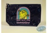 Bagagerie, Monsieur et Madame : Grande trousse vinyle noire, Little Miss Sunshine : You are…