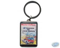 Porte-clé métal, La trahison de Steve Warson