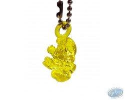 Schtroumpf translucide jaune