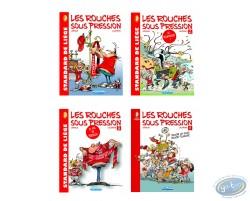Les Rouches sous pression, Série complète de 4 tomes