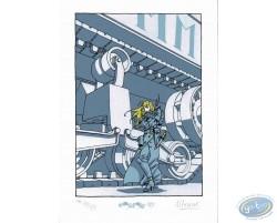 Hestia devant le char