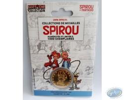 Médaille Spirou et Fantasio