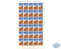 Planche de 30 timbres