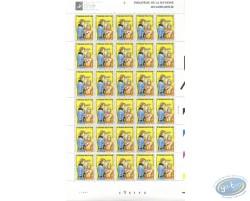 Planche de 30 timbres, Luc Orient