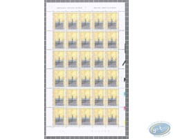 Planche de 30 timbres Maison du Roi