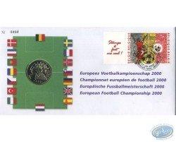 Championnat européen de football 2000, enveloppe 1er jour