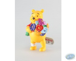 Winnie et son bouquet de fleur, Disney