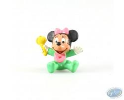 Bébé Minnie avec son hochet, Disney