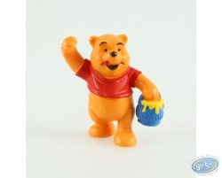 Winnie debout avec son pot de miel, Disney