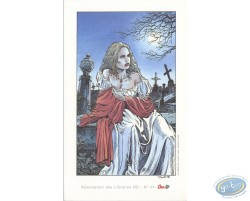 Elise dans le cimetière