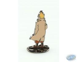 Tintin en Amérique, Tintin de dos (bas relief) + boite