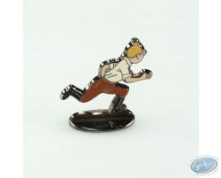 Tintin au Congo, Tintin courant (bas relief) + boite