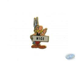 Astérix auto stoppeur 'Nice'