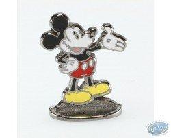 Mickey saluant d'une main (bas relief), Disney