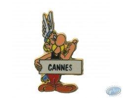 Astérix auto stoppeur 'Cannes'