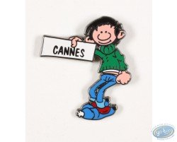 Gaston Lagaffe fait du stop pour Cannes
