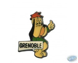 Droopy auto stoppeur 'Grenoble'