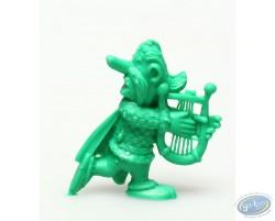 Mini Assurancetourix jouant de la lyre (vert foncé)
