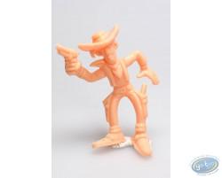 Lucky Luke pistolet en l'air (orange)