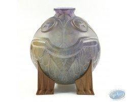 Vase Salammbô en pâte de verre