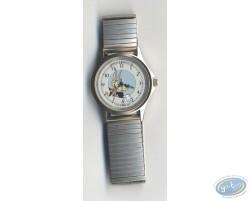 Montre, Tex Avery Loup bracelet métal