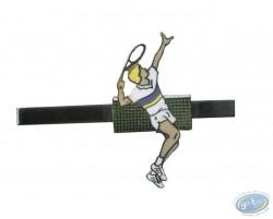 Pince à cravate - joueur de tennis