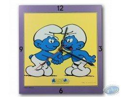 Horloge, 2 amis