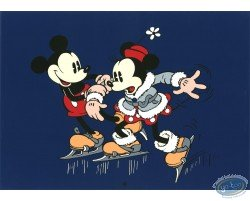 Mickey et Minnie patinent, Disney