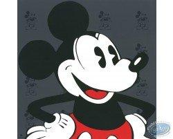 Visage Mickey (gris), Disney