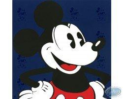 Visage Mickey (bleu), Disney