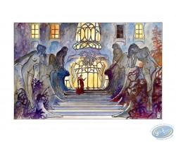 Le palais des désirs, Manara