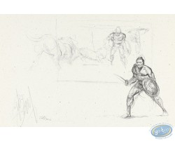 Gladiateurs (croquis)