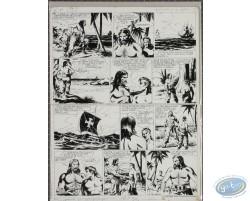 Le fils du boucanier - Planche originale