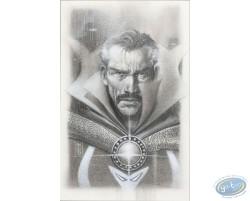 Eddy Newell - Docteur Strange (dessin original)