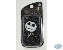 Coque Iphone 4G, Tête de Mr Jack - noir