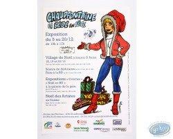 Affiche publicitaire 'Chaudfontaine La Bédé en fête' par Walthéry