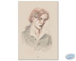 Ariane de Troïl portrait beige