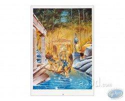 Crisse, Atalante s'avancant dans l'eau