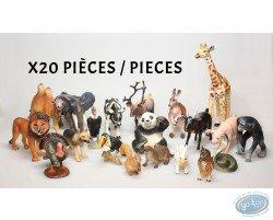 Lot de 20 animaux