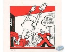 Chaland, Spirou et Radar le Robot