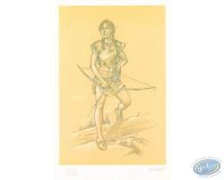 Ariane avec un arc