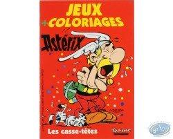 Jeux et coloriages, les casse-têtes (Petit format)