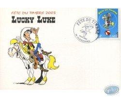 1er jour cirque, Lucky Luke