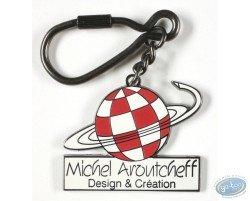 Porte-clé Logo Michel Aroutcheff, Design & Création