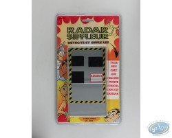 Radar siffleur, flash