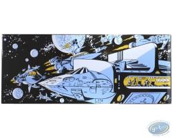 L'Empire des mille planètes, Vaisseaux dans l'espace