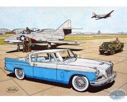 Studebaker 57 bleue