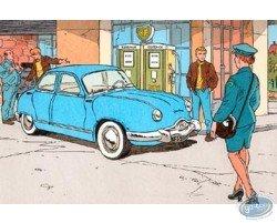 Dyna Panhard 54 bleue
